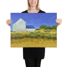 Load image into Gallery viewer, Canvas Print - San Juan Island farm, WA - FREE SHIPPING