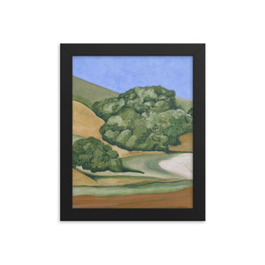 Framed poster - Marin Hills 1 - FREE SHIPPING