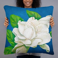 Load image into Gallery viewer, Decorative Pillow – Gardenia – FREE SHIPPING