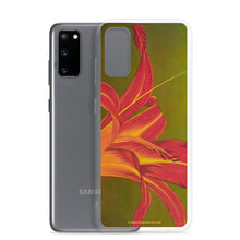 Load image into Gallery viewer, Samsung Case - Ruby Spider Daylily - FREE SHIPPING