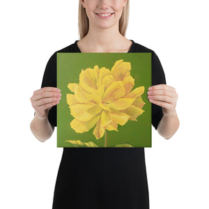 Canvas Print - Yellow Rose - FREE SHIPPING