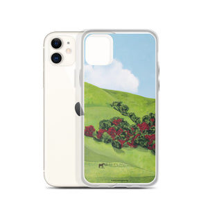 iPhone cell case - Sonoma hills in winter - FREE SHIPPING
