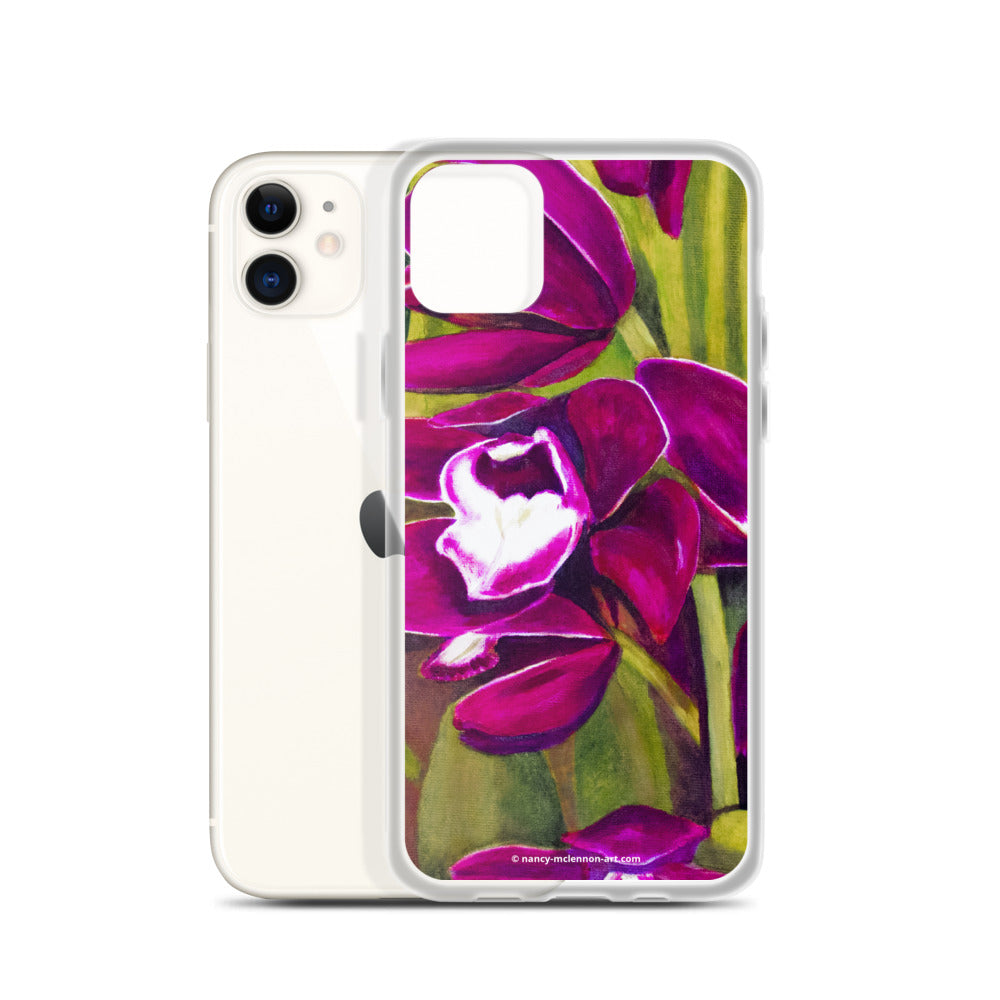 iPhone Case - Dark Magenta Orchid