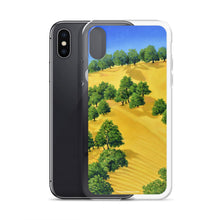 Load image into Gallery viewer, iPhone cell case - Lake Berryessa with golden hills 2 - FREE SHIPPING