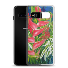 Load image into Gallery viewer, Samsung Case - Kauai Tropical Florals - FREE SHIPPING