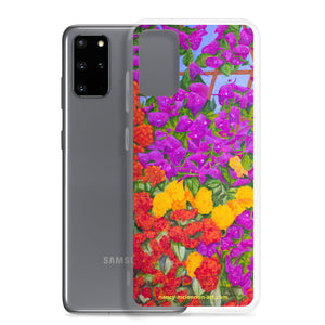 Samsung Case - Garden of flowers - FREE SHIPPING
