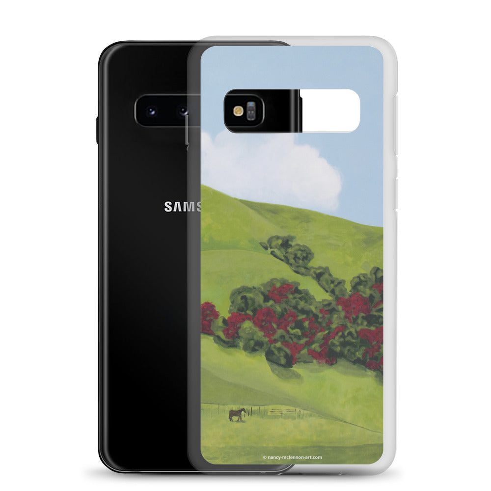 Samsung Case - Sonoma Hills in Winter - FREE SHIPPING