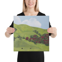 Load image into Gallery viewer, Canvas Print - Sonoma Hills in winter - FREE SHIPPING