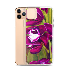 iPhone Case - Dark Magenta Orchid - FREE SHIPPING