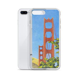 iPhone Case - Golden gate bridge from Presidio - FREE SHIPPING