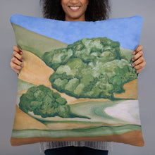 Load image into Gallery viewer, Decorative Pillow - Marin Hills Left  -  FREE SHIPPING