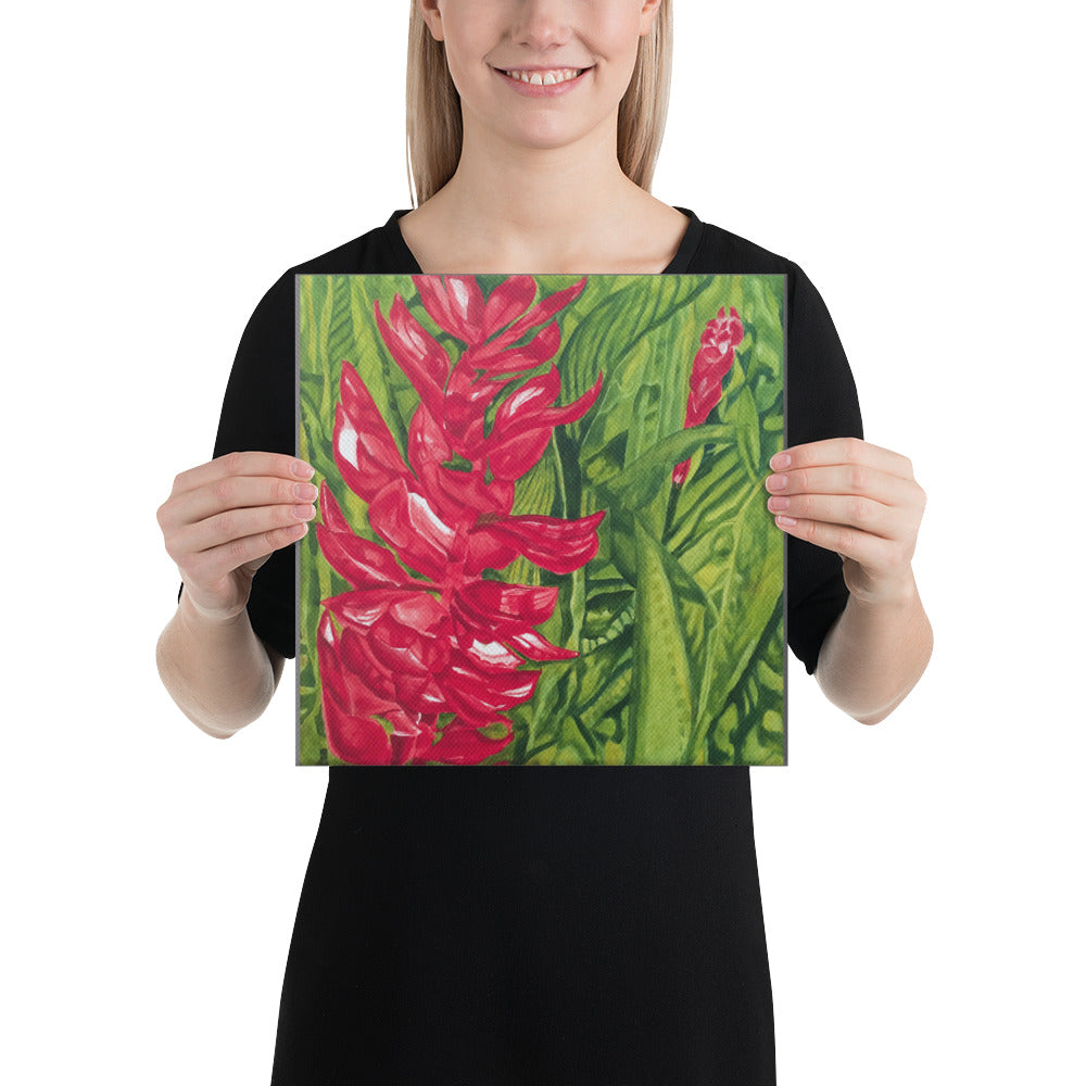 Canvas Print - Red Ginger - FREE SHIPPING