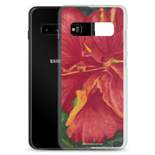 Load image into Gallery viewer, Samsung Case - Deep Red Hibiscus - FREE SHIPPING