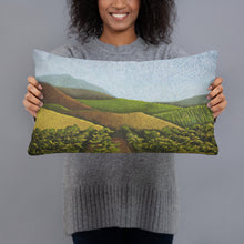 Load image into Gallery viewer, Decorative Pillow - Napa Valley vines in the fall