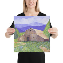 Load image into Gallery viewer, Canvas Print - Michigan Barn