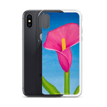 Load image into Gallery viewer, iPhone Case - Rosy Pink Lily - FREE SHIPPING