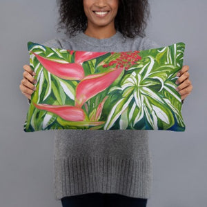 Decorative Pillow - Kauai Tropical Florals 2 - FREE SHIPPING