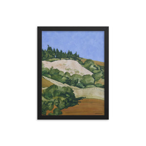 Framed poster - Marin Hills 2 - FREE SHIPPING