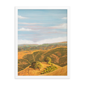 Framed poster - Cal's Delight - Lucas Valley, CA - FREE SHIPPING