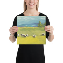 Load image into Gallery viewer, Canvas Print - Oregon sheep farm