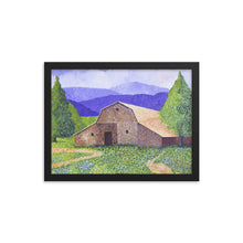 Load image into Gallery viewer, Framed poster - Michigan Barn - FREE SHIPPING
