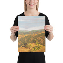 Load image into Gallery viewer, Canvas Print - Cal's Delight - Lucas Valley, CA - FREE SHIPPING