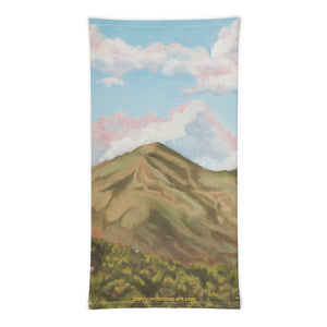 Face Cover - Clouds over Mt Tamalpais - FREE SHIPPING