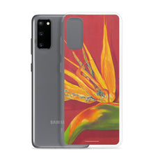 Load image into Gallery viewer, Samsung Case - Bird of Paradise on rust - FREE SHIPPING