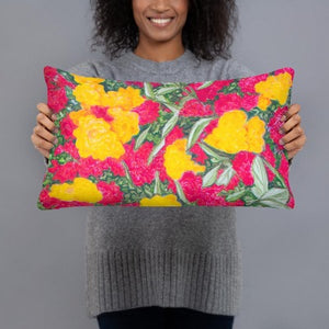 Decorative Pillow - Roses Garden - FREE SHIPPING