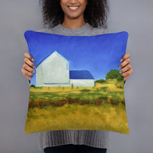 Load image into Gallery viewer, Decorative Pillow - San Juan Island Farm, WA - FREE SHIPPING