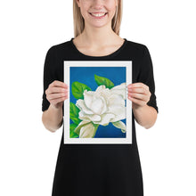 Load image into Gallery viewer, Framed Print - Glowing Gardenia - FREE SHIPPING