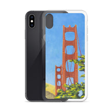 Load image into Gallery viewer, iPhone Case - Golden gate bridge from Presidio - FREE SHIPPING