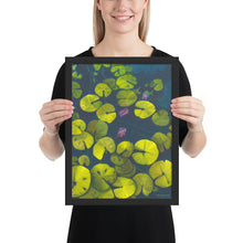 Load image into Gallery viewer, Framed Print - Waterlilies - FREE SHIPPING