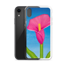 Load image into Gallery viewer, iPhone Case - Rosy Pink Lily
