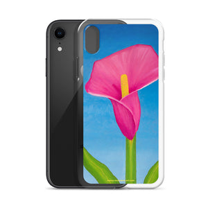 iPhone Case - Rosy Pink Lily - FREE SHIPPING