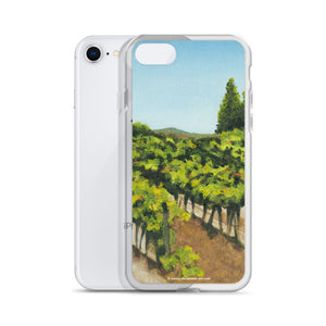 iPhone Case - Napa Vines before harvest - FREE SHIPPING