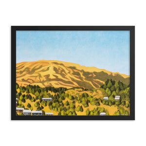 Framed poster - Kentfield Hills 1 - FREE SHIPPING