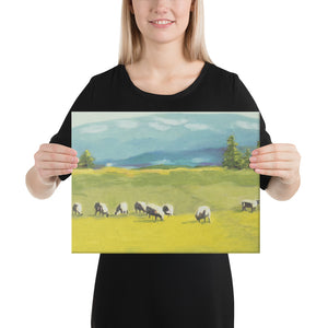 Canvas Print - Oregon sheep farm - FREE SHIPPING