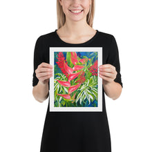 Load image into Gallery viewer, Framed Print - Kauai Tropical Florals - FREE SHIPPING