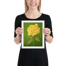 Load image into Gallery viewer, Framed print – Yellow Rose - FREE SHIPPING