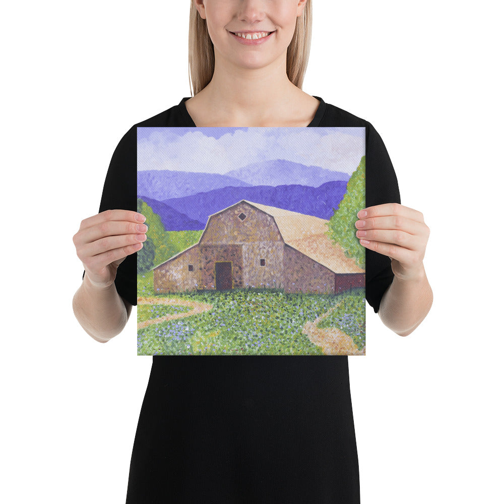 Canvas Print - Michigan Barn