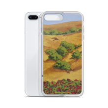 Load image into Gallery viewer, iPhone Case - Sonoma CA hills with red roses