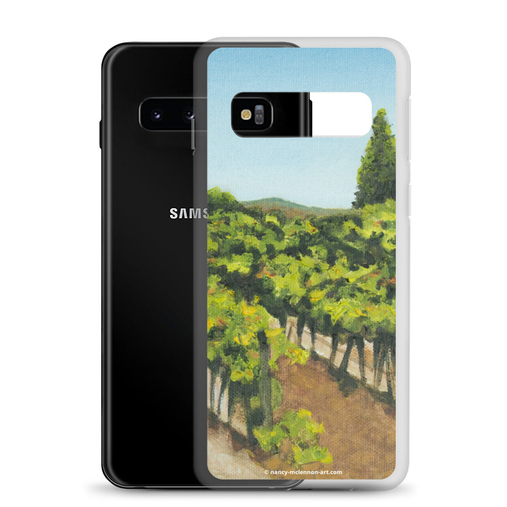 Samsung Case - Napa vines before harvest - FREE SHIPPING
