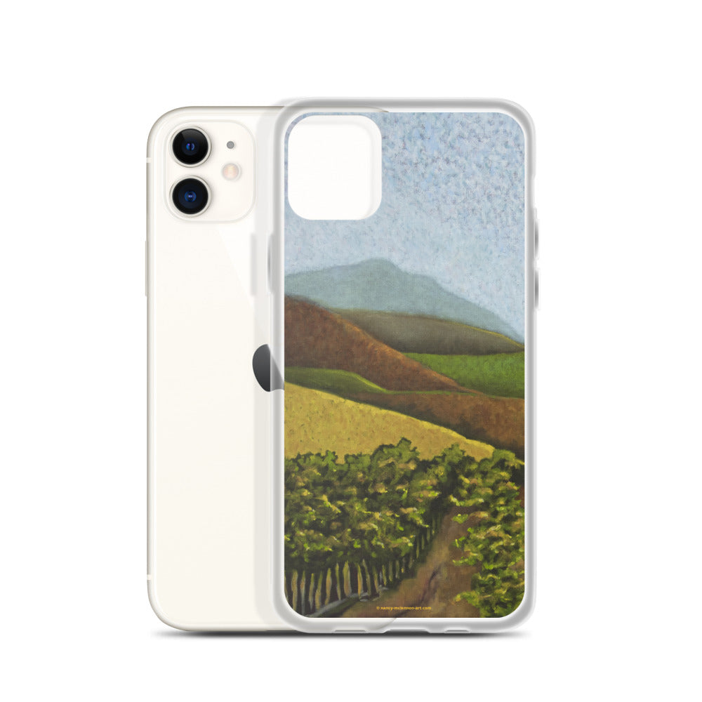 iPhone cell case - Napa Valley vines in the fall - FREE SHIPPING