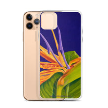 Load image into Gallery viewer, iPhone Case - Bird of paradise on purple - FREE SHIPPING