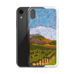 iPhone Case - Napa Valley vineyard hills - FREE SHIPPING