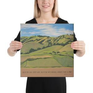Canvas Print - Nicasio Hills, CA - FREE SHIPPING