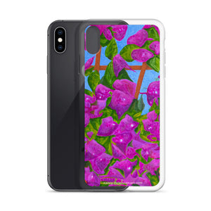 iPhone Case - Bougainvillea - FREE SHIPPING
