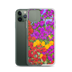 iPhone Case - Garden of flowers - FREE SHIPPING
