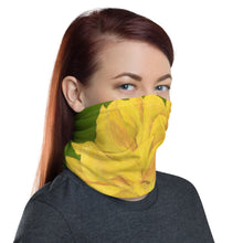 Load image into Gallery viewer, Face Cover - Yellow Rose - FREE SHIPPING